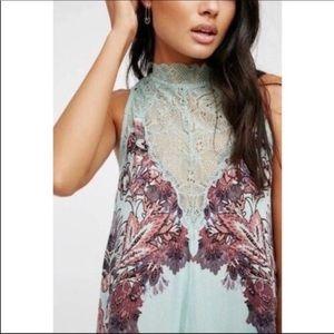 Free People Dresses - NWT Free People Marsha Printed Slip Dress